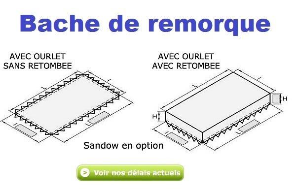 baches protection remorque